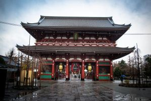 Asakusa Shrine by Natures-Studio