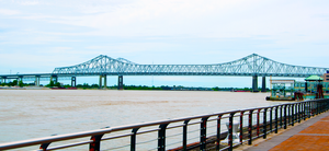 Bridge into New Orleans by RxJoker