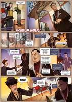 Monsieur Charlatan Page 120 by DrSlug