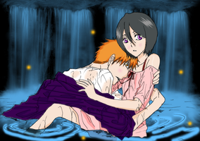 IchiRuki Water Rendezvous by evenstar-lady