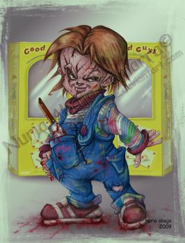 I am a good guy  Child's Play by nuriaabajo