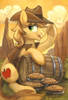 Over a Barrel by SpainFischer