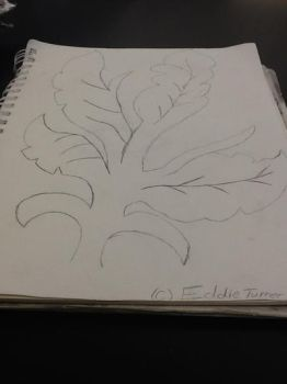 Drawing of a plant by Biged900
