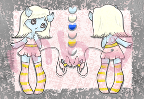 Pastel Demon Chick - 24 Hour Auction - CLOSED by OhSweetYaoiHands