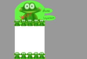 Froggy Homepage by Annmey