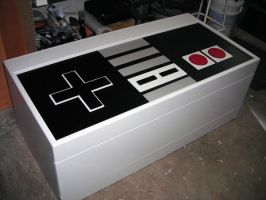 Nintendo coffee table by kemp22