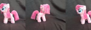 MLP FiM 7 inch handmade plush: Filly Pinkie Pie! by vulpinedesigns
