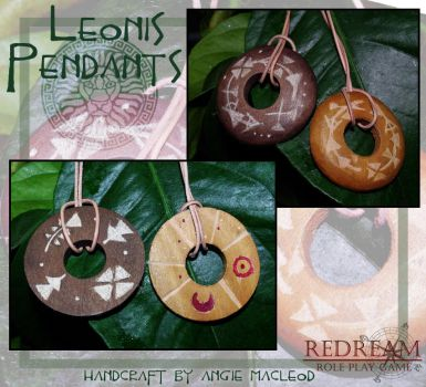 Leonis Pendants by ValkAngie