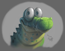 Random crocodilian... by Twarda8