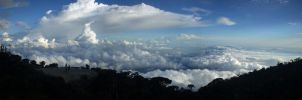 View from Mount Kinabalu by temporary40