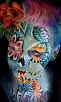 Anne-Marie-Noble-Sugar-Skull-1 by Anne-Marie-Noble-Art