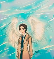 Castiel by Eilyn-Chan