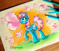 Heart Bubbles by Letquestria
