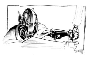 General Grievous by Frisbeegod