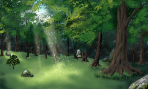 Forest Glade for ToD by kristhasirah