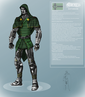 MCU Doctor Doom Design by DarthDestruktor