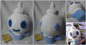 Giant Vanillite Plush by SmileAndLead