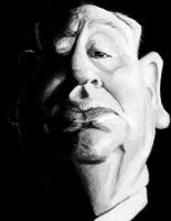 Another Hitchcock Caricature by DoodleArtStudios