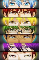 Kiseki No Sedai   and Kagami by naruble