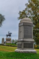 Civil War Monuments on top of hill by ENT2PRI9SE