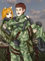STALKER Freedom Campton and Fox by Melhmon