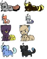 Sparkle Kitten Cat Adopts by PrettyKitty-Adopts