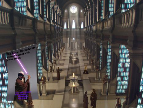 The Force With Jules Windu by MidNightMagnificent