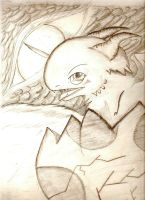 Baby Dragon by 666bloodyhell666
