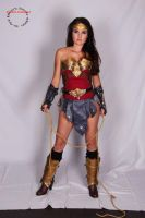 Armored Wonder Woman Cosplay by Clair85