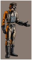 Wedge Antilles by eclecticmuse