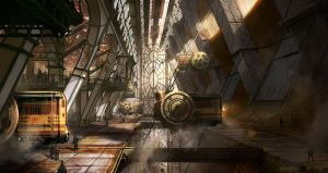 steampunk station by jonone