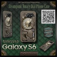 Samsung Galaxy S6 Case - Steampunk Rotary Dial by GOSStudio