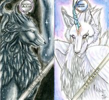 Tarot Cards: 8-9:78 by MagicallyCapricious