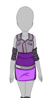 Naruto outfit miniauction - CLOSED by Universeseed