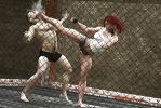 Cage Confrontation 01 by therealmonty