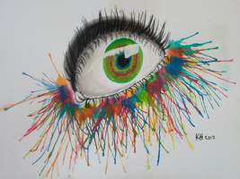 Eye Watercolour by InvincibleSoap