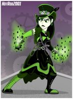 Steampunk Shego by hotrod2001