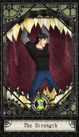 Ben 10 Tarot- 8. The Strength by CheshireP