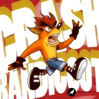 Crash Bandicoot by jomjom