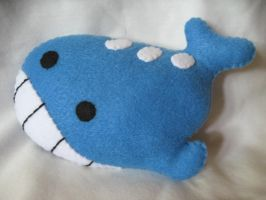 Wailord Pokemon Plush by P-isfor-Plushes