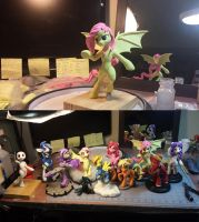 -WiP- Getting set for BronyCon by dustysculptures