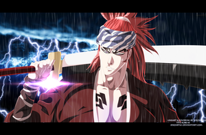 Abarai Renji - Bleach #585 by JoeZart63