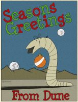 Dune X-mas Card by Duratec