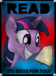Read! Its Good For You! by DatBrass