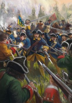 The Great Northern War (Baccus 6MM Miniatures) by Mitchellnolte