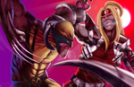 Wolverine VS Omega Red by HaitianHallow
