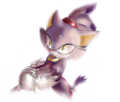 Blaze the cat by Omiza