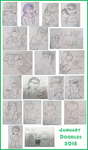 January Doodles 2015 by AwsmYoshi