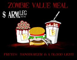 Zombie Value Meal by jedijorel
