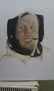 Neil Armstrong by Lucyjain